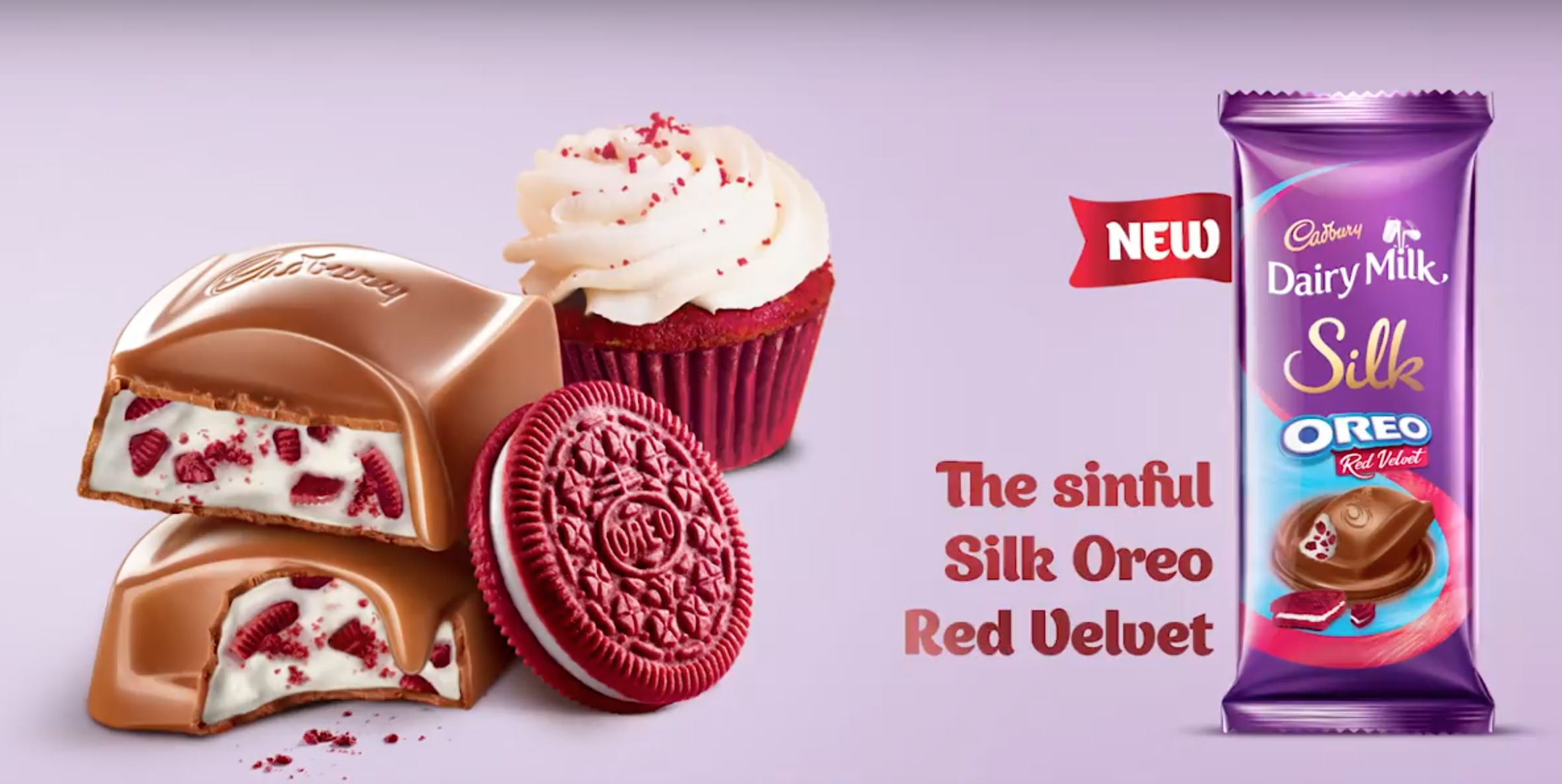 Now you can buy a Dairy Milk filled with Oreos and red velvet cake pieces