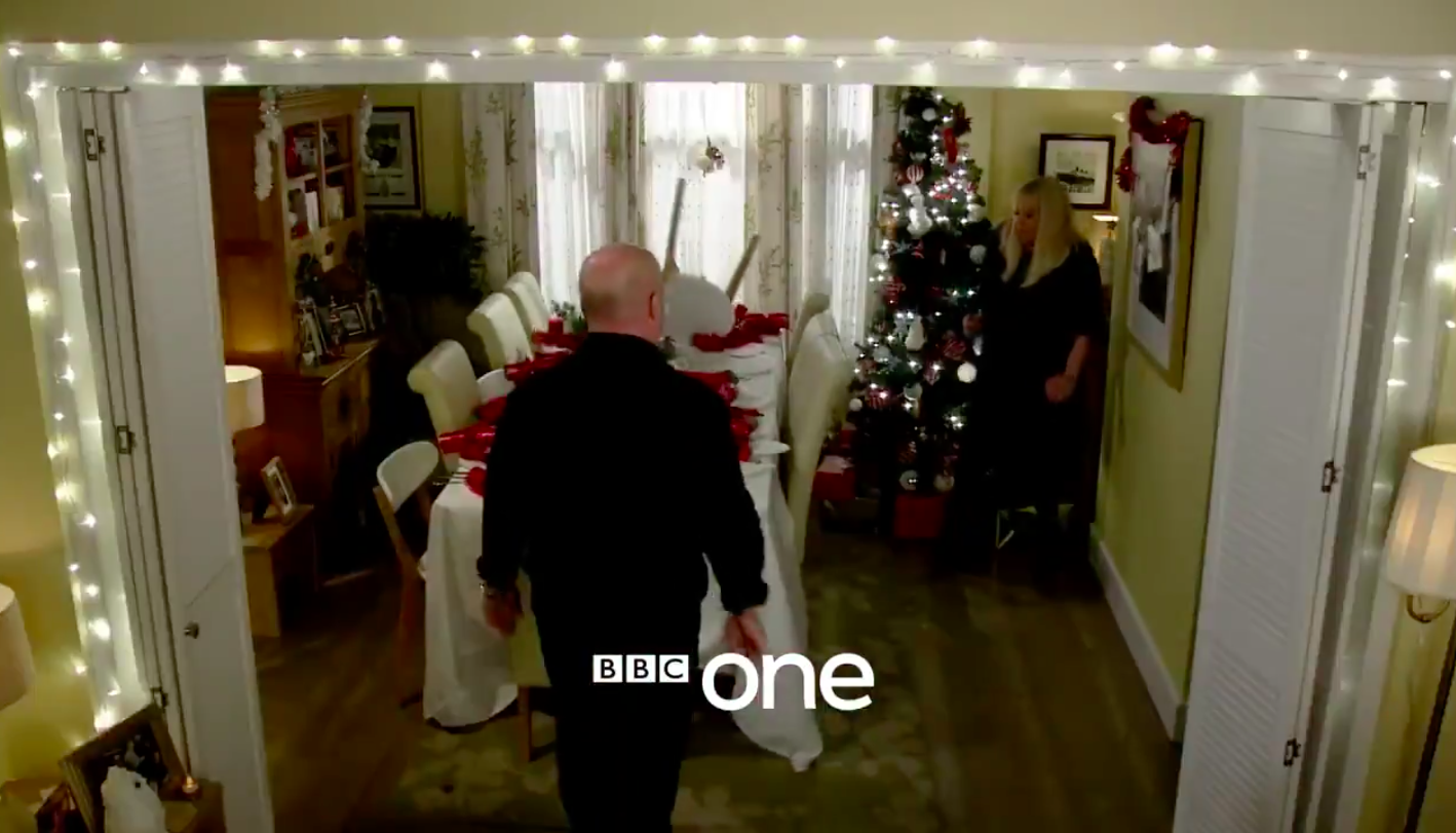 EastEnders' Phil violently attacks Sharon in explosive new Christmas trailer