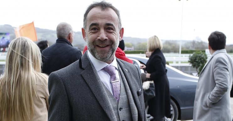 Celebrities are seen arriving for the final day of racing, known as, 'Gold Cup Day' at the 2017 Cheltenham Festival at Cheltenham Racecourse in England, UK. WORLDWIDE RIGHTS Pictured: Michael Le Vell Ref: SPL4174564 170317 NON-EXCLUSIVE Picture by: FameFlynet.uk.com / SplashNews.com Splash News and Pictures Los Angeles: 310-821-2666 New York: 212-619-2666 London: +44 (0)20 7644 7656 Berlin: +49 175 3764 166 photodesk@splashnews.com World Rights