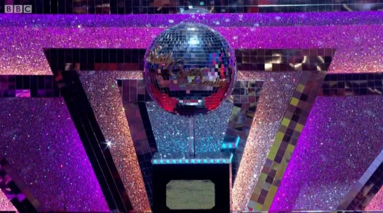 The Strictly glitterball trophy