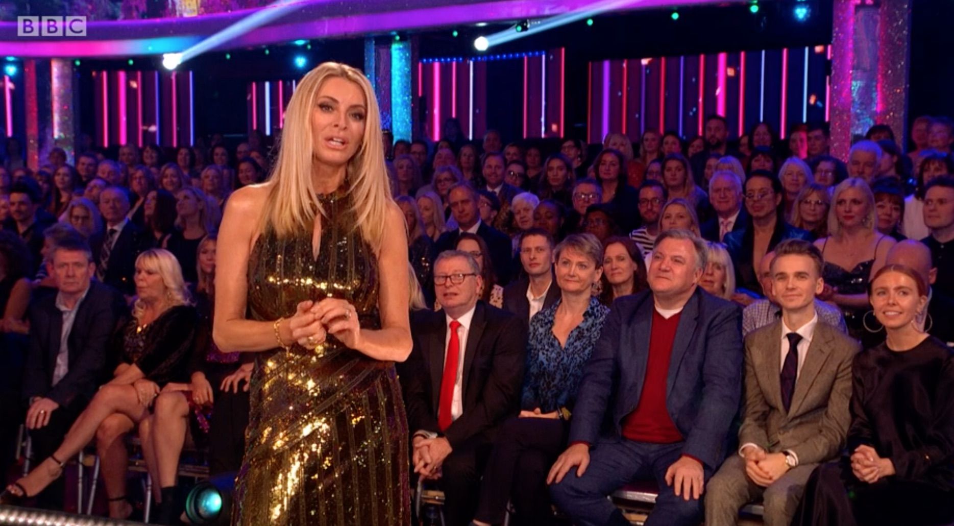 Strictly viewers in stitches as Tess introduces Kelvin Fletcher as 'Kevin'
