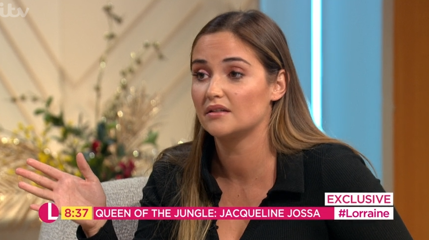 I'm A Celeb victor Jacqueline Jossa breaks silence on Dan Osborne cheating claims