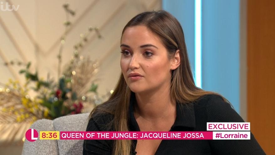 Jacqueline Jossa reveals she lost a stone in I'm A Celebrity jungle