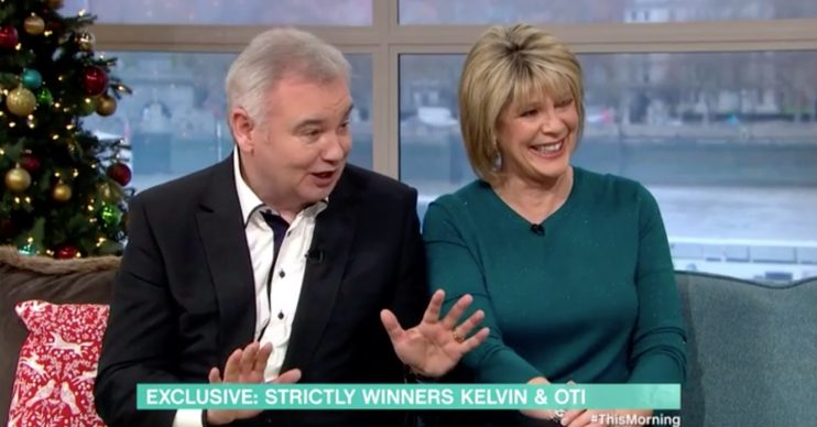 Eamonn Holmes Strictly this morning