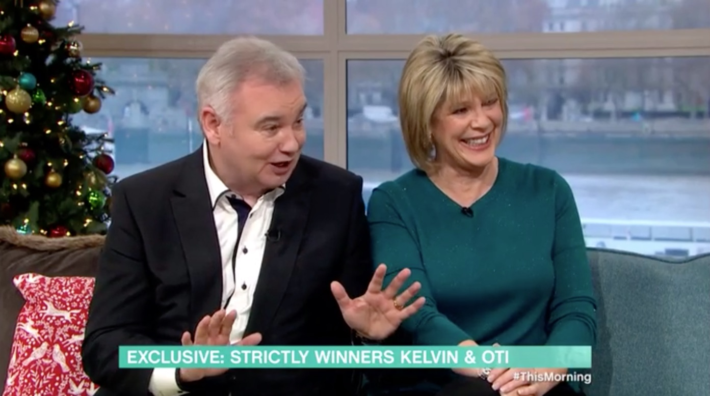 Eamonn Holmes reveals HE could have been Oti Mabuse's Strictly partner instead of Kelvin Fletcher