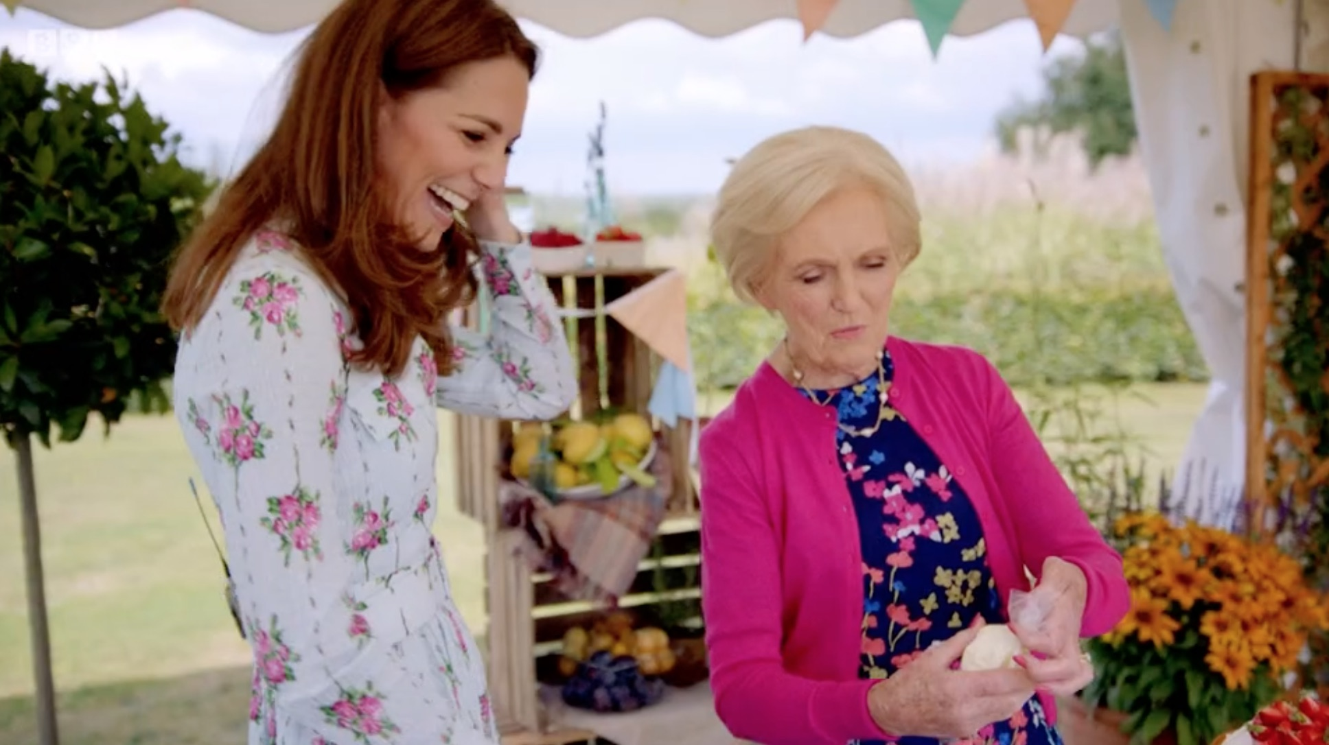 Mary Berry Kate Middleton squirt