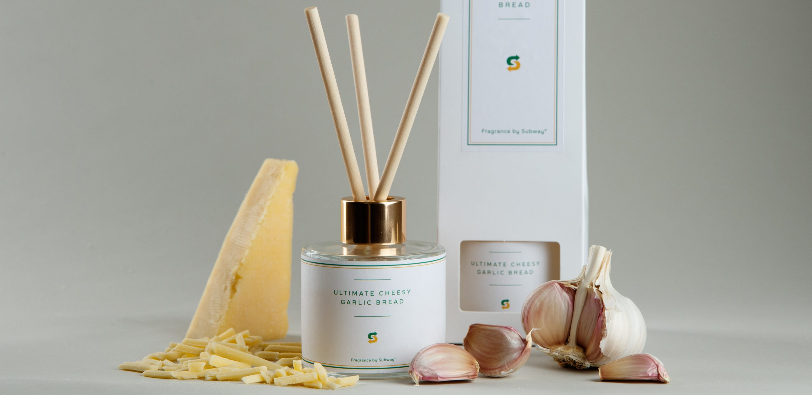 Subway launches a reed diffuser to make your home smell like cheesy garlic bread