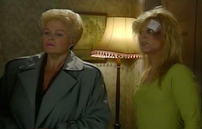 Linda Henry as prostitute in EastEnders