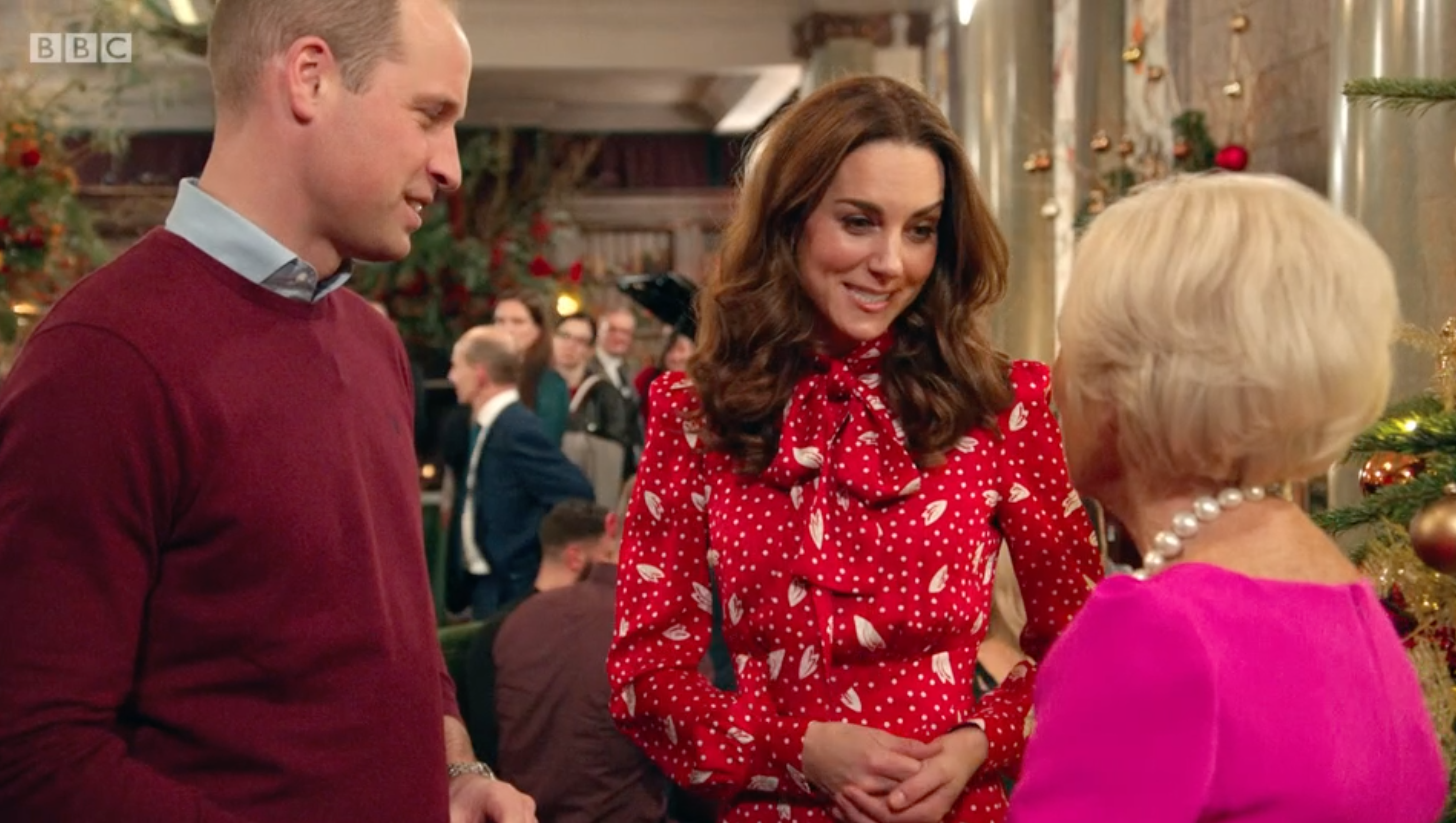 BBC viewers convinced Kate 'shrugged off' Prince William's hand on her shoulder