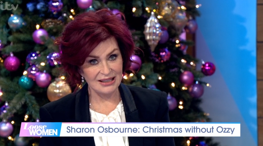 Sharon and Ozzy Osbourne To Spend Christmas Apart