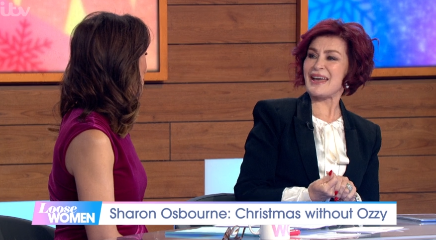 Sharon Osbourne shows off results of fourth face lift on Loose Women