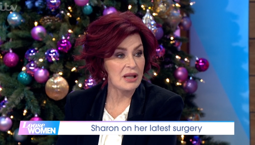 Sharon Osbourne admits she was 'in agony' after fourth facelift