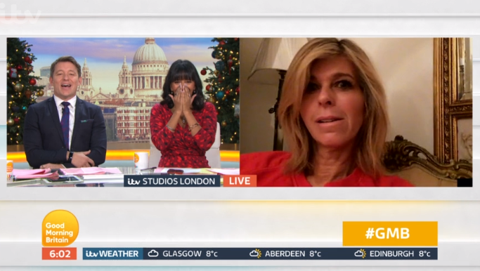 Kate Garraway fears GMB sack as she misses first show back after oversleeping