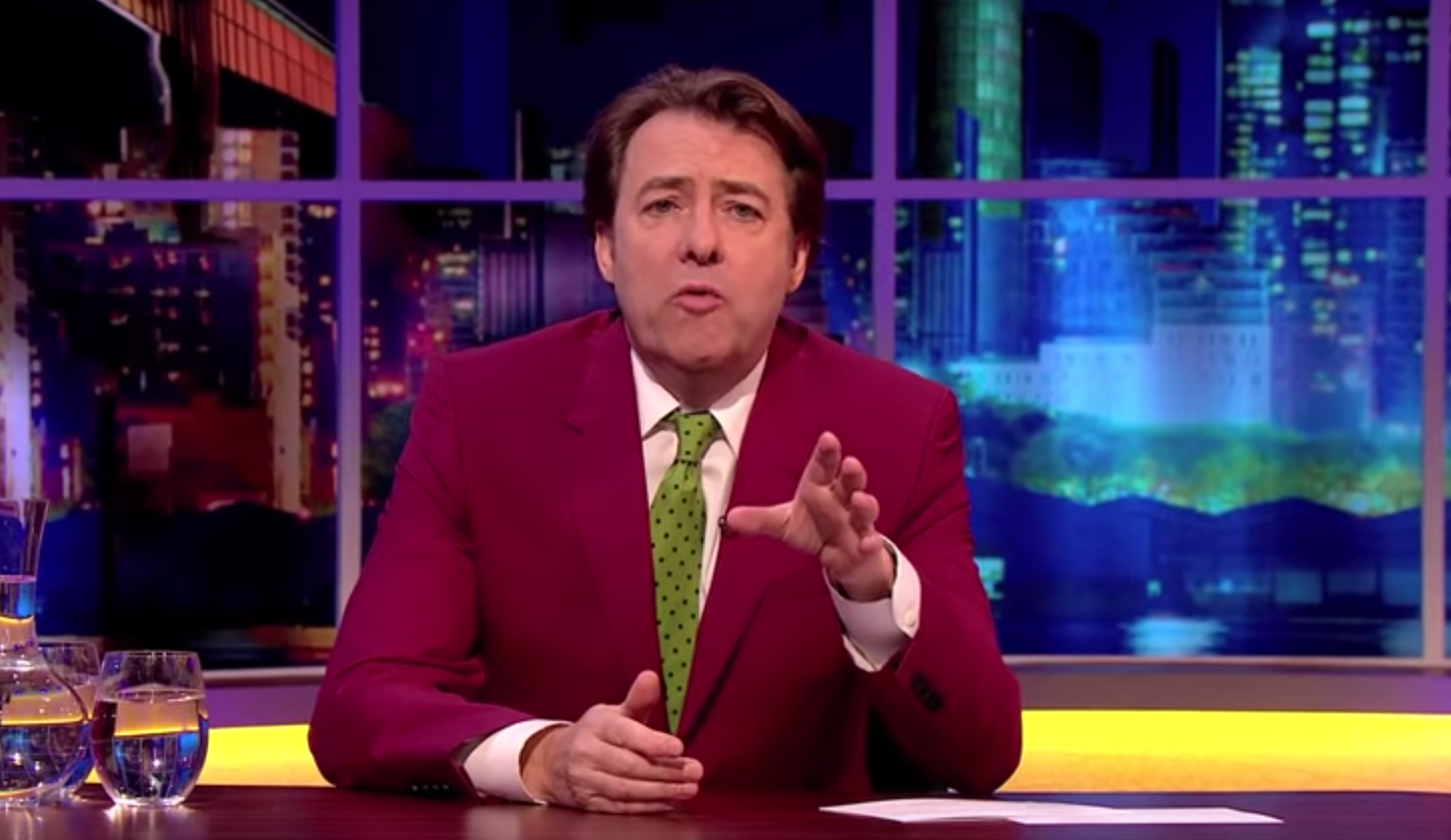 ITV denies Jonathan Ross' chat show has been 'shelved due to disappointing ratings'