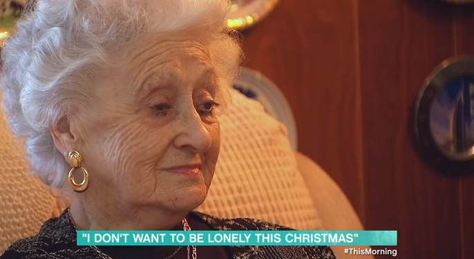 This Morning viewers emotional as lonely elderly woman receives gifts from show