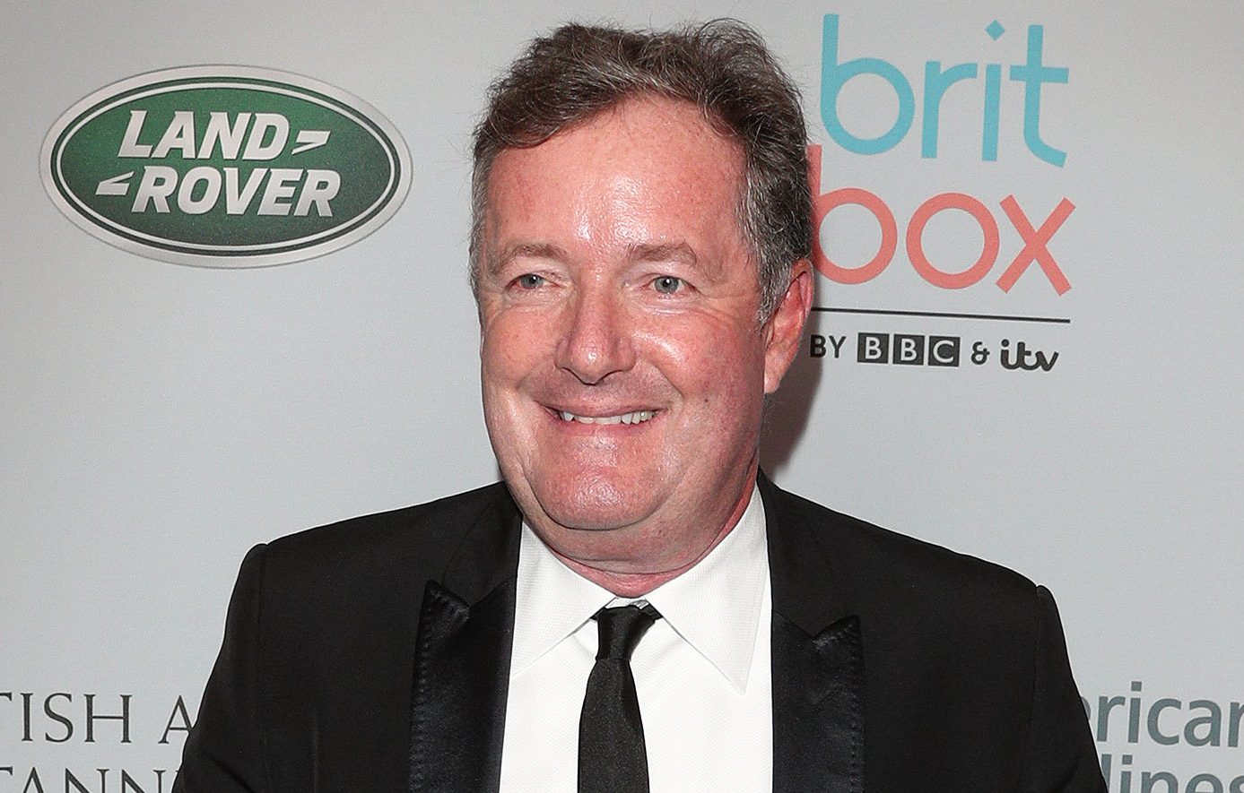 Piers Morgan delights fans with cute pic of his daughter Elise on the school run