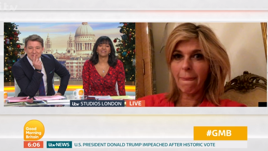 Good Morning Britain fans fear Kate Garraway will be fired for missing first show back