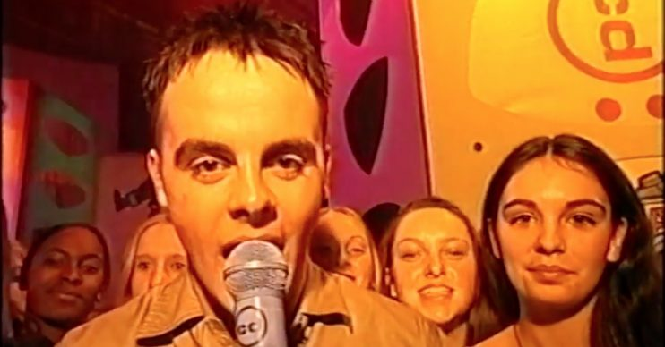Ant McPartlin CD:UK (YouTube)