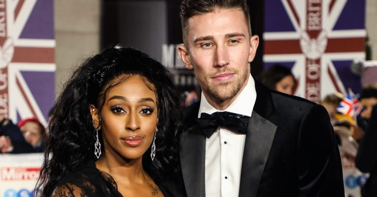 Angus McDonald and Alexandra Burke