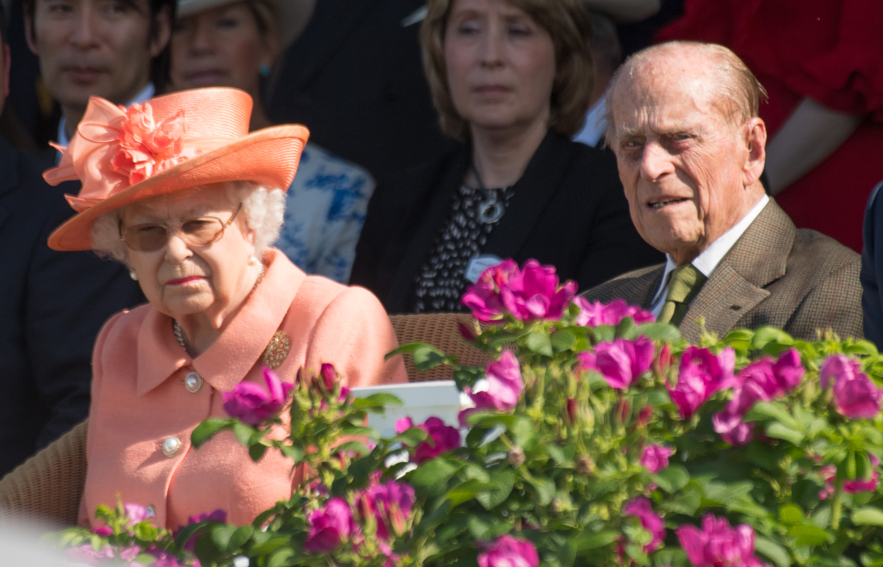The Queen attends church after Duke of Edinburgh's second night in hospital