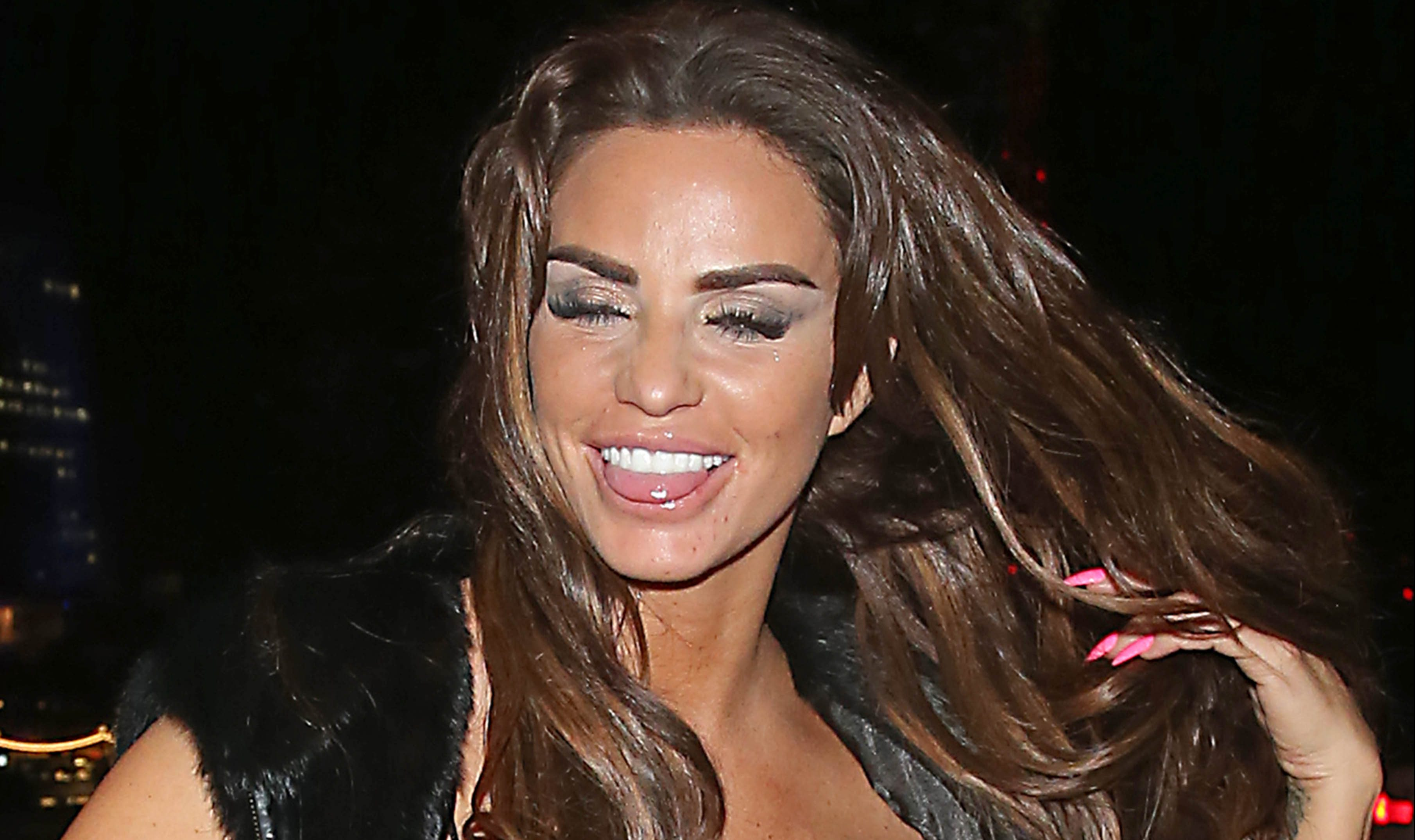 "Katie Price teases fans with ""shock"" news that has made her smile"