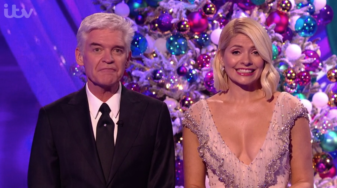 Holly Willoughby dress Dancing On Ice