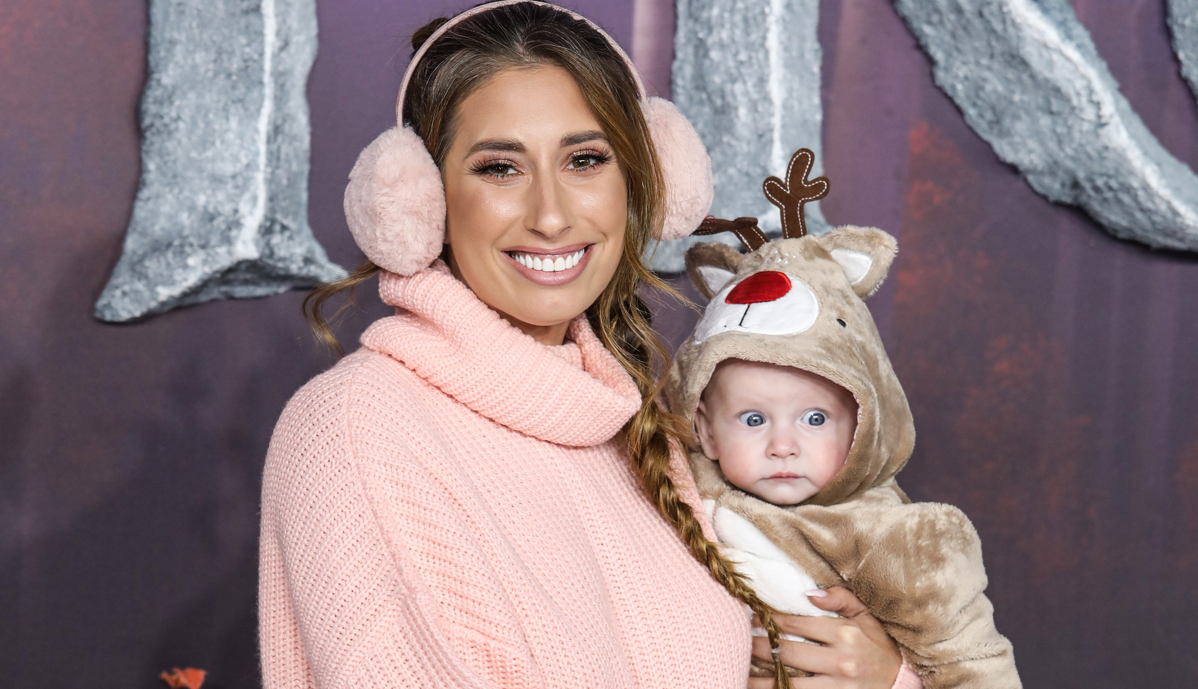 Stacey Solomon shares hilarious video of baby Rex's 'exploding poo' gift
