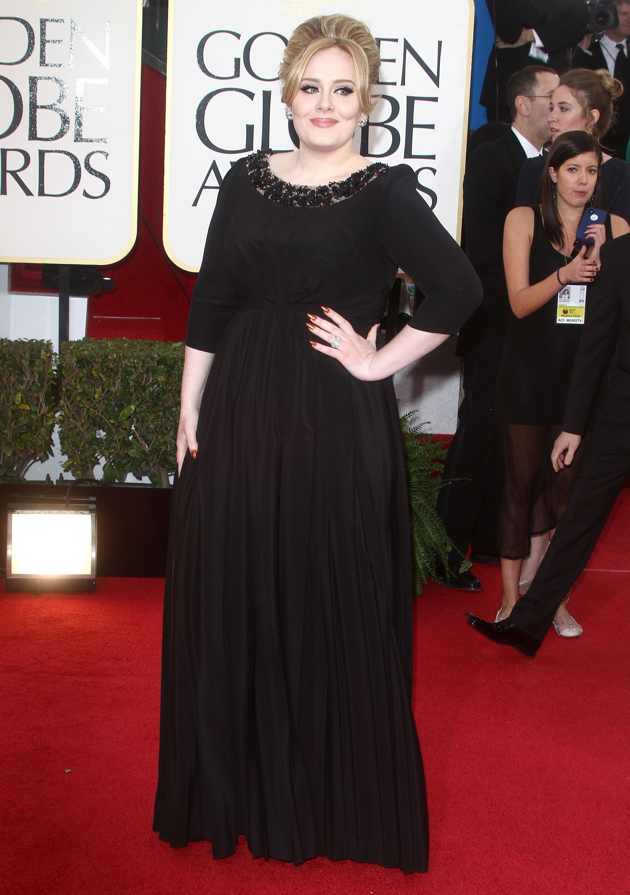 Adele weight loss (Credit: Splash news)