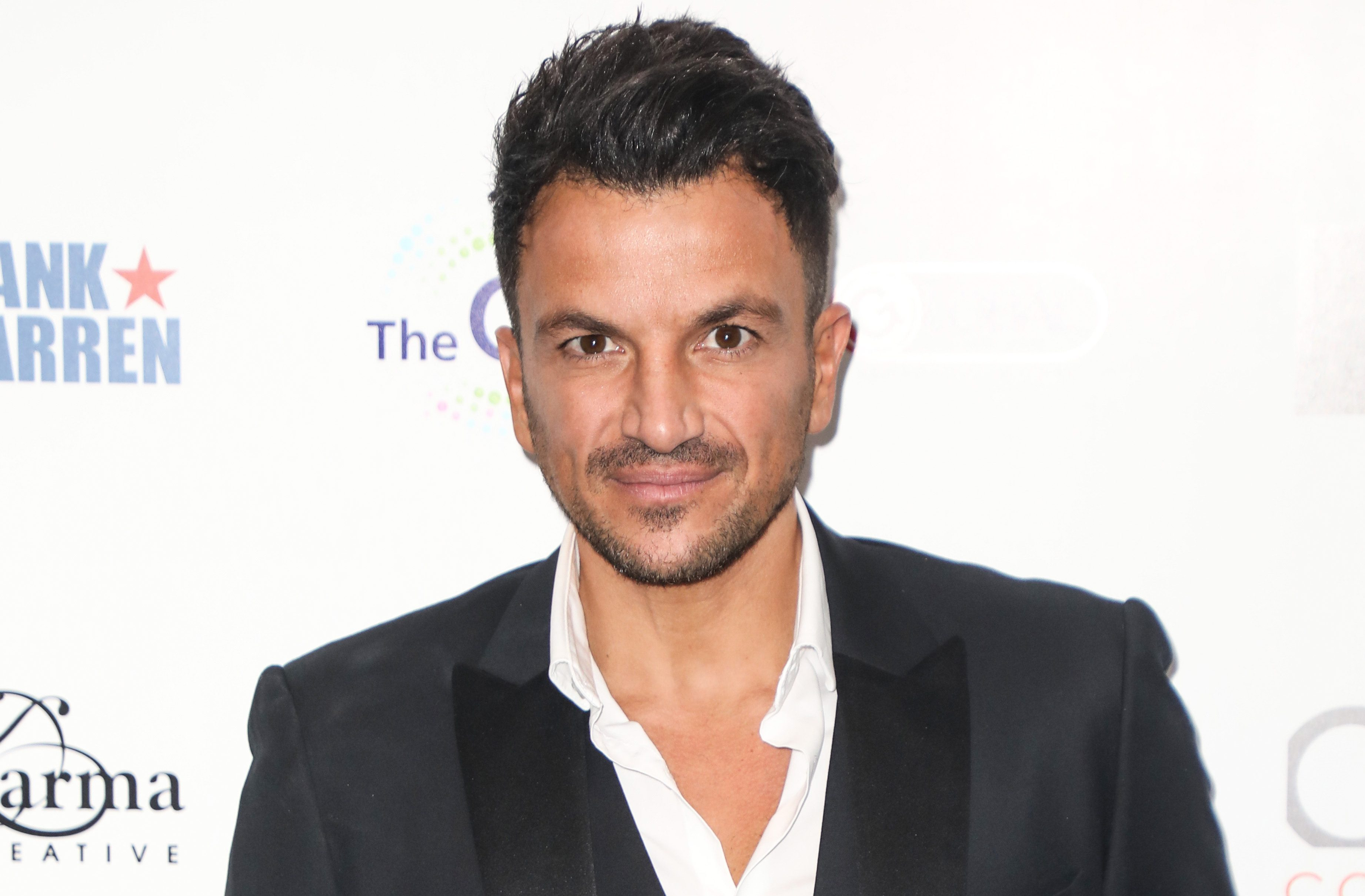 Peter Andre shows off  'fake poo' in front of his family at Christmas