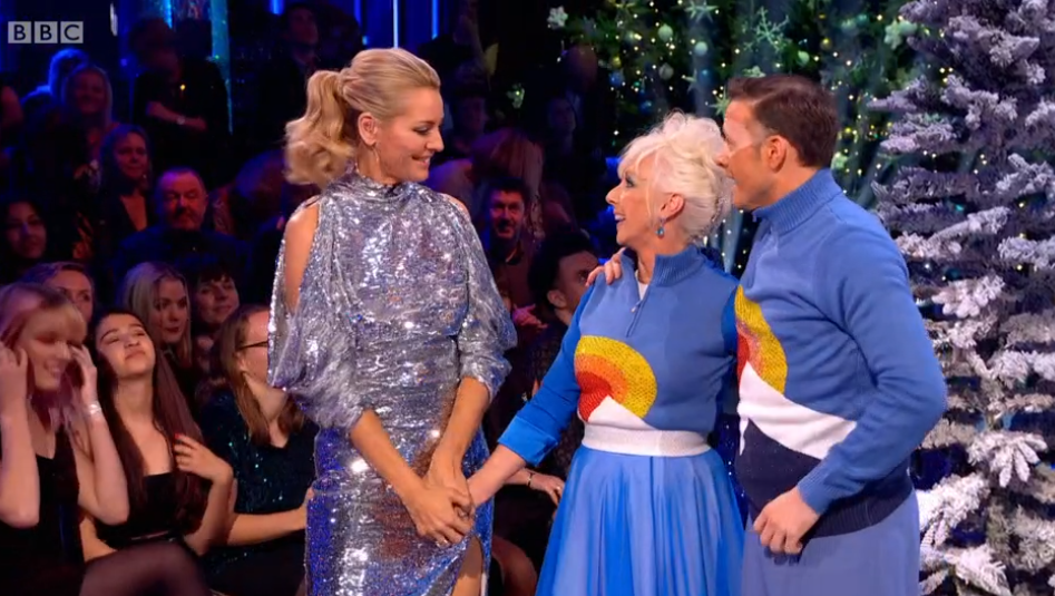 Debbie McGee and Kevin Clifton on Strictly