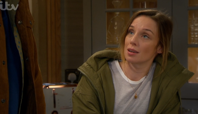 Emmerdale fans confused as Andrea tells Jamie that she slept with Graham on Valentine's Day