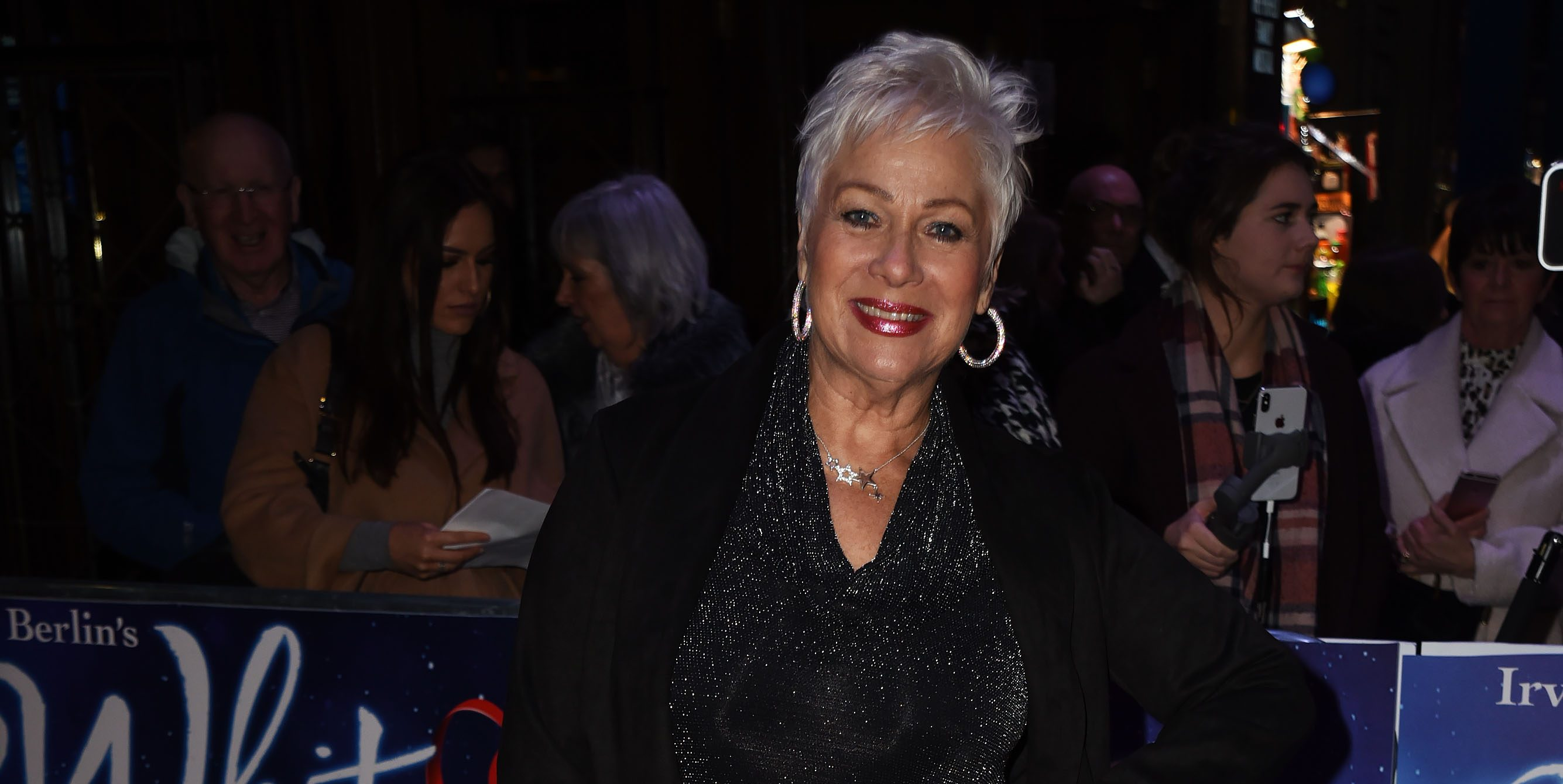 Denise Welch shares sweet picture with Emmerdale star son Louis Healy