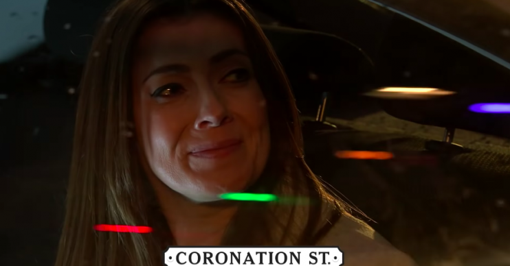 Corrie fans confused as Michelle leaves before Robert's funeral