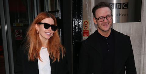 Stacey Dooley and Kevin Clifton share rare romantic picture together