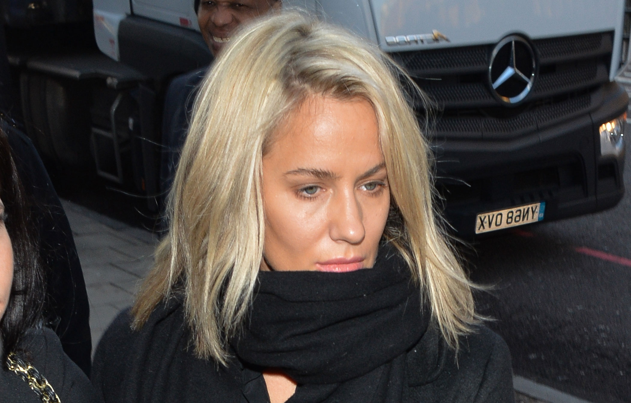 Caroline Flack flies to LA to 'find herself' ahead of her assault trial in March