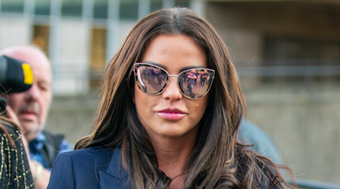 Katie Price strips off for bath time snap as she 'reflects on difficult year'