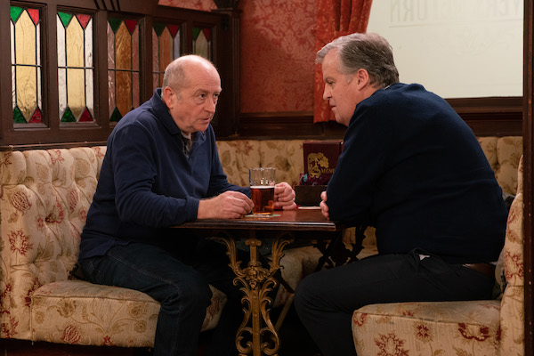 Coronation Street SPOILERS: Geoff lies Yasmeen is an alcoholic