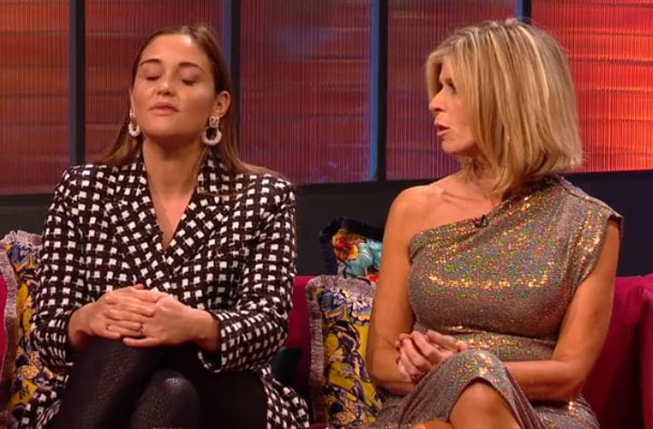 I'm A Celebrity's Jacqueline Jossa takes swipe at campmate Kate Garraway for being 'too nice'