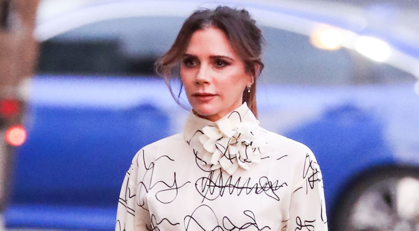 Victoria Beckham doesn't think she's handsome