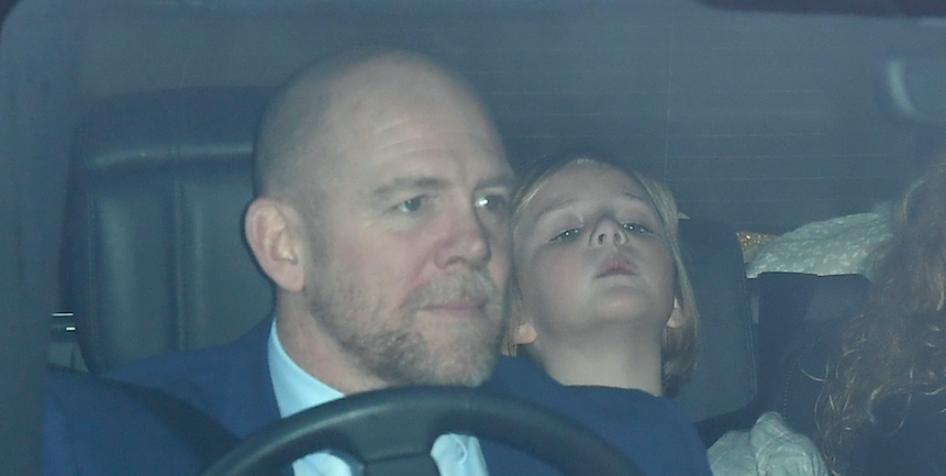 Mike Tindall reveals Prince George ate in a separate room to his parents on Christmas Day