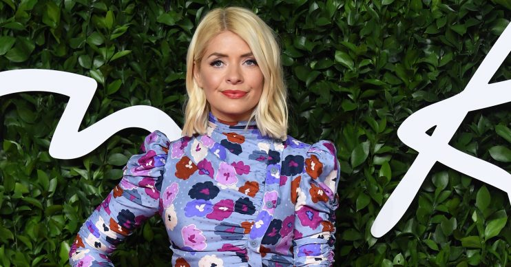 The Fashion Awards at Royal Albert Hall, London. Pictured: Holly Willoughby Ref: SPL5134529 021219 NON-EXCLUSIVE Picture by: SplashNews.com Splash News and Pictures Los Angeles: 310-821-2666 New York: 212-619-2666 London: +44 (0)20 7644 7656 Berlin: +49 175 3764 166 photodesk@splashnews.com World Rights