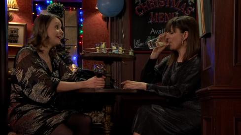 Coronation Street viewers loving Tracy McDonald and Paula Martin