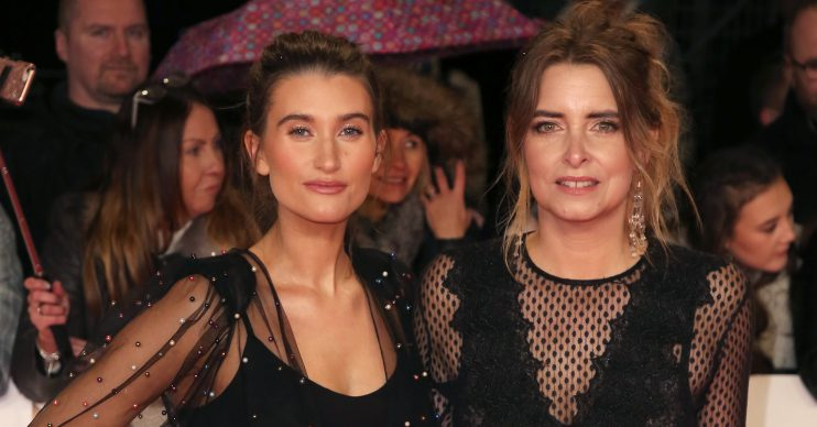 Celebrities attend the The National Television Awards 2019, held at the 02 Arena in London Pictured: Charley Webb,Emma Atkins Ref: SPL5057311 220119 NON-EXCLUSIVE Picture by: Brett D. Cove / SplashNews.com Splash News and Pictures Los Angeles: 310-821-2666 New York: 212-619-2666 London: +44 (0)20 7644 7656 Berlin: +49 175 3764 166 photodesk@splashnews.com World Rights