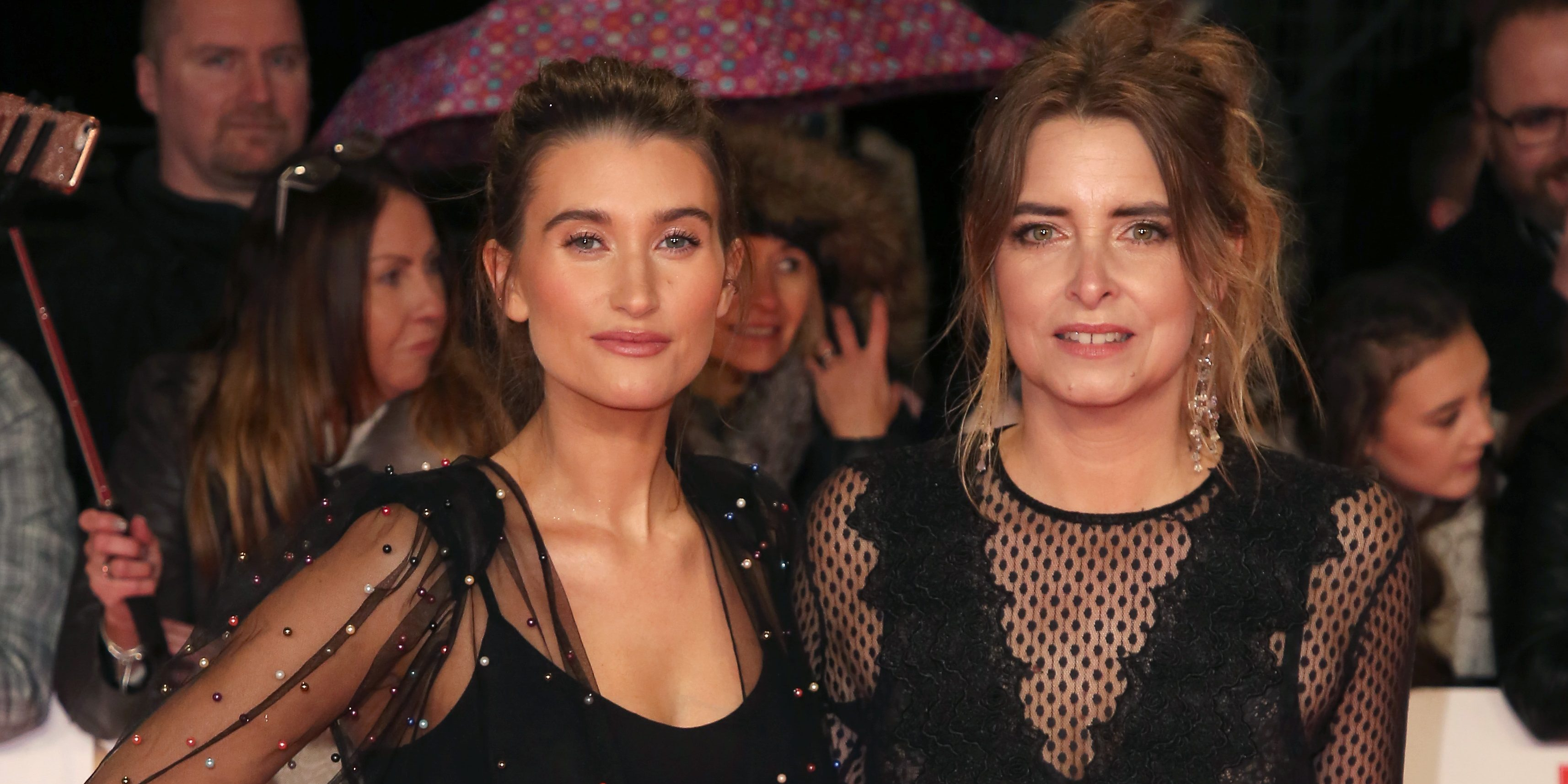Charley Webb reunites with Emmerdale co-star Emma Atkins to celebrate New Year's Eve