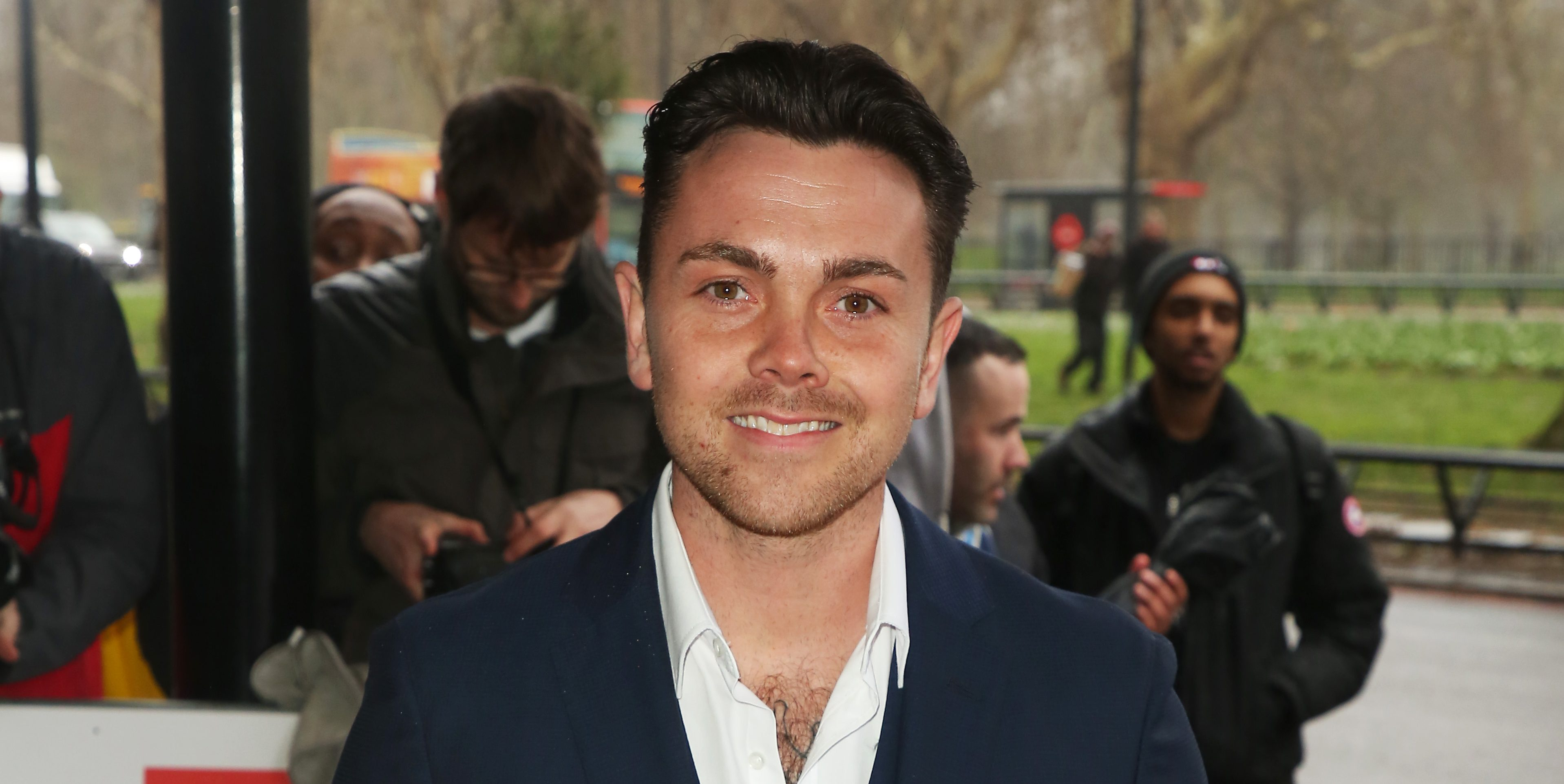 Former Hollyoaks actor Ray Quinn reveals engagement to girlfriend Emily Ashleigh