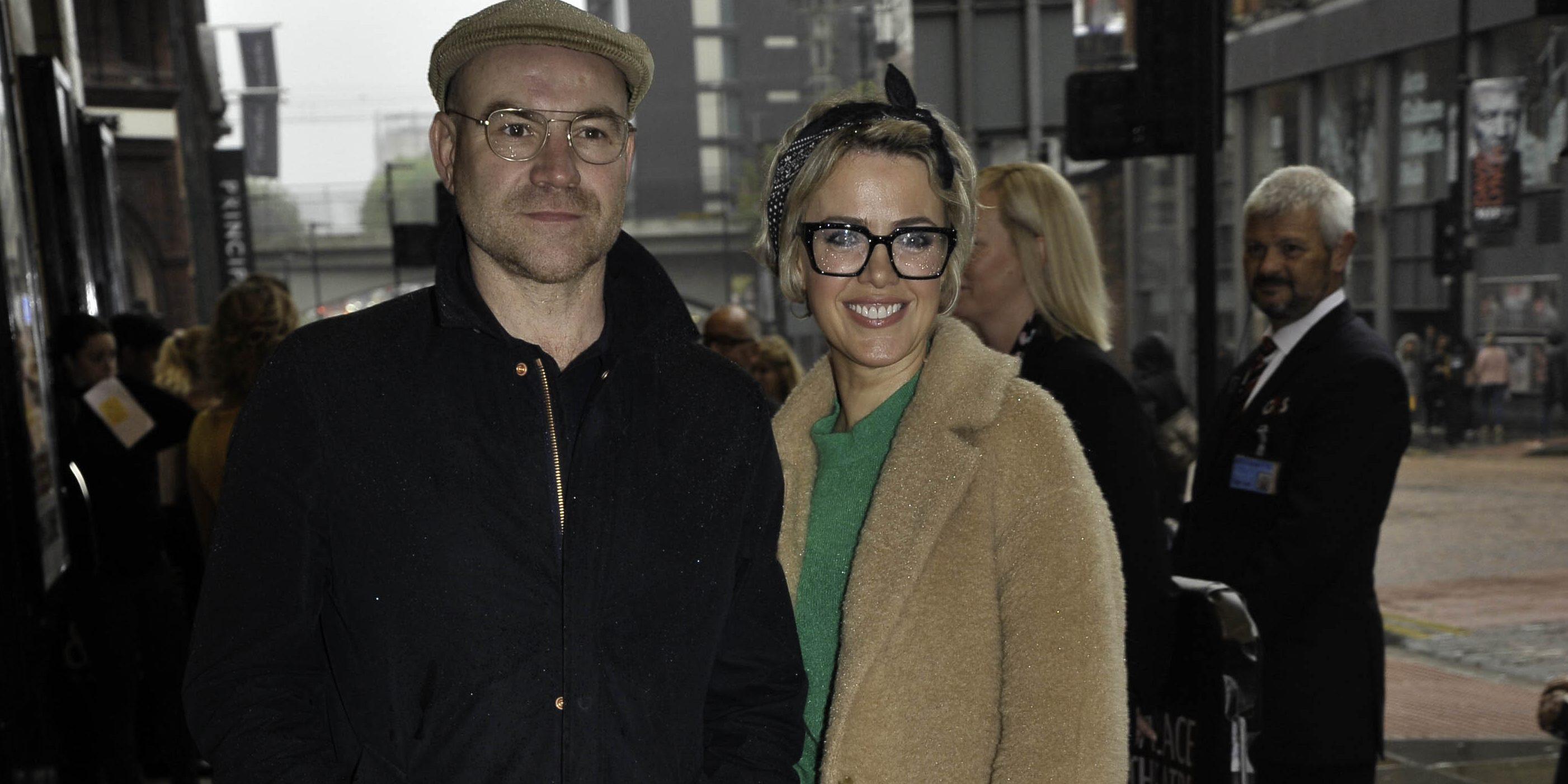 Coronation Street couple Joe Duttine and Sally Carman glam up for date night