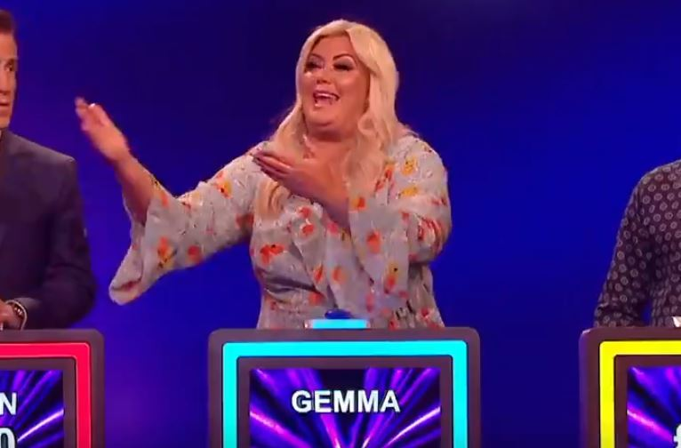 Gemma Collins mocked for struggling to understand Catchphrase as repeat airs