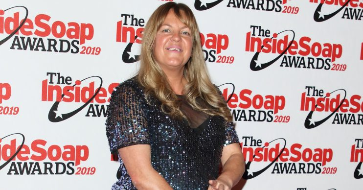 The Inside Soap Awards 2019 held at Sway Nightclub Featuring: Lorraine Stanley Where: London, United Kingdom When: 07 Oct 2019 Credit: Keith Mayhew/Cover Images