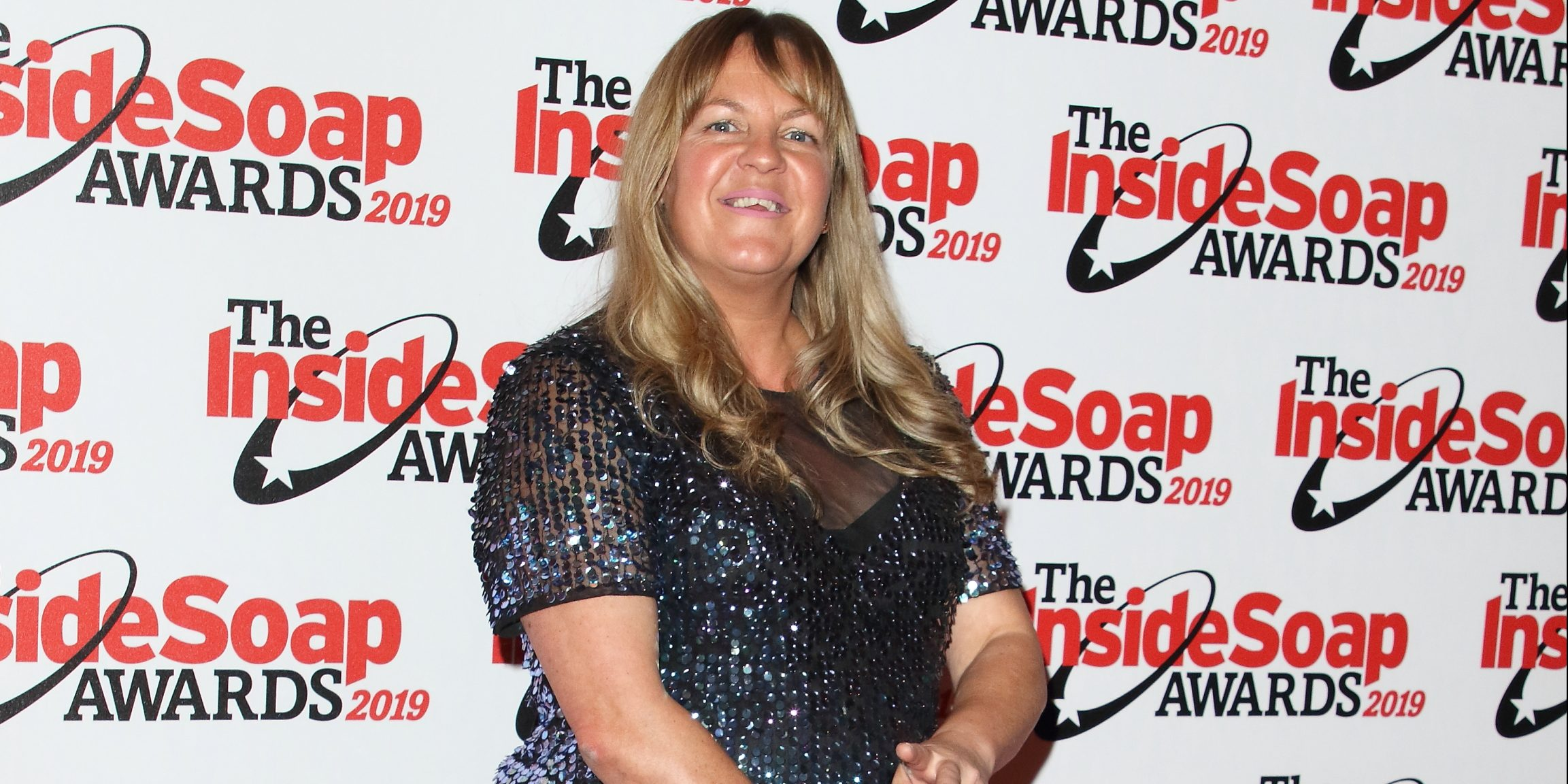 EastEnders' Lorraine Stanley wishes partner happy anniversary with hilarious picture