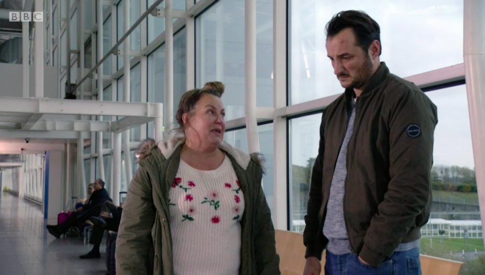 EastEnders fans confused at Keanu getting a flight after Martin burned his passport